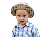 Portrait Of Little Kid Royalty Free Stock Image