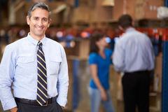 Free Portrait Of Manager In Warehouse Stock Photos - 31854243