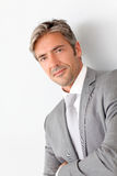 Portrait Of Mature Businessman Royalty Free Stock Images