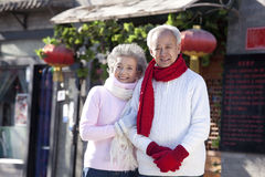 Free Portrait Of Senior Couple Stock Images - 62507784