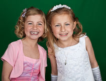 Free Portrait Of Sisters In Formal Dress Stock Images - 14280994