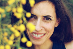 Free Portrait Of Smiling Woman Outdoors Stock Photography - 30537422
