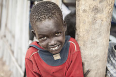 Portrait Of South Sudanese Boy Stock Photography