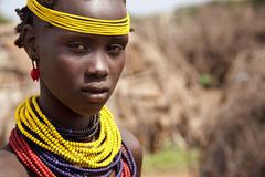 Free Portrait Of The African Girl. Royalty Free Stock Photo - 47972865