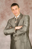 Portrait Of The Businessman Stock Image