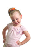 Portrait Of The Little Smiling Girl Royalty Free Stock Photography