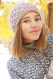 Portrait Of The Smiling Teen Girl Royalty Free Stock Images
