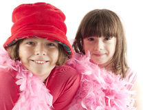 Free Portrait Of Two Little Girls On A Holiday Stock Image - 12044961