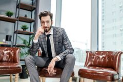 Free Portrait Of Young Business Man Royalty Free Stock Images - 190425729