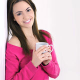 Portrait Of Young Woman Stock Images