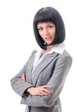 Portrait of an office worker Royalty Free Stock Photo