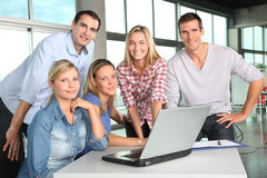 Portrait of office workers Stock Image