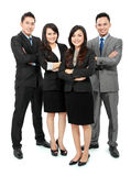 Portrait of office workers smiling Royalty Free Stock Images