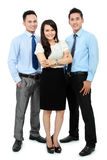 Portrait of office workers smiling Royalty Free Stock Photo