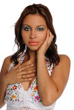 Portrait ofl Hispanic Woman Stock Photography