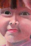 Portrait- oil on canvas Stock Images