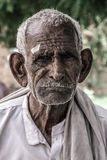 Portrait old Indian man Royalty Free Stock Photography