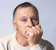 Portrait of a  old man Stock Photography