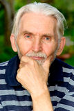 Portrait of old man Royalty Free Stock Images