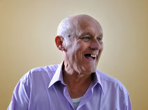 Portrait of an old man Stock Photography