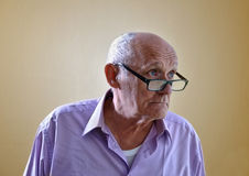 Portrait of an old man Royalty Free Stock Image