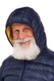 Portrait of an old man with a white beard Stock Photography