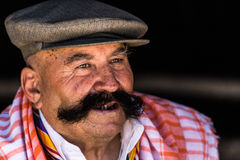 Portrait of old Turkish man Royalty Free Stock Photography