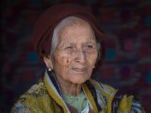 Free Portrait Old Woman. Inle Lake, Myanmar Royalty Free Stock Photography - 77478977