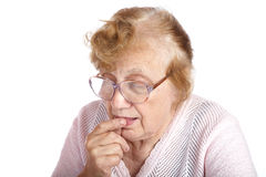 Portrait old women Royalty Free Stock Photo