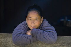 Portrait old women in Nepal Royalty Free Stock Photography