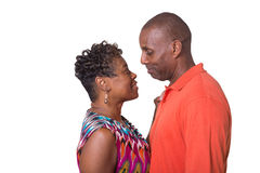 Portrait of an older couple Royalty Free Stock Images