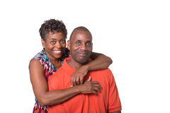 Portrait of an older couple Royalty Free Stock Photos