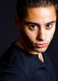 Portrait of one hispanic handsome man Royalty Free Stock Photography