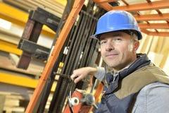 Warehouse Operator Stock Photo - Image: 39116687