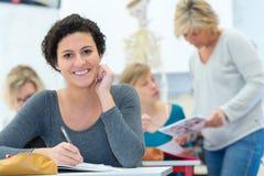 Portrait osteopathy female student posing