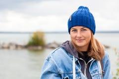 Portrait of outdoor atmospheric lifestyle photo royalty free stock photo