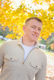 Portrait Outside in Autumn Royalty Free Stock Photos