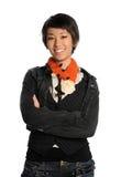 Portrait oy Asian Woman Stock Photo