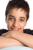 Portrait of a pakistan teenage boy Stock Images