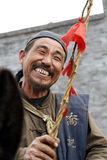 Portrait of the pedlar Stock Images