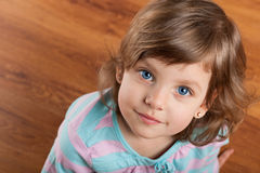Portrait of a pensive girl Stock Photo