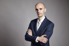 Portrait of Pensive Man Stock Images