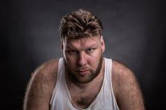 Portrait of pensive man Royalty Free Stock Photo