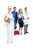 People with fulfilling careers. Portrait of people with fulfilling careers Stock Photos