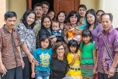 Portrait of people from Sulawesi, Indonesia Stock Image