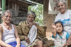 Portrait of people from Tana Toraja, Indonesia Stock Photos