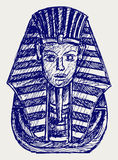 Portrait of Pharaoh Stock Photography