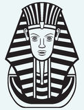 Portrait of Pharaoh Royalty Free Stock Photos