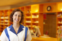 Portrait of a pharmacist Royalty Free Stock Photography