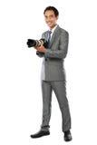 Portrait of photographer Stock Photo
